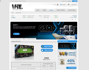 Whitebet - Online-kasino med pokeravdelning
