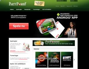 Partypoker erbjuder gratis poker turneringar, vinn riktiga pengar!