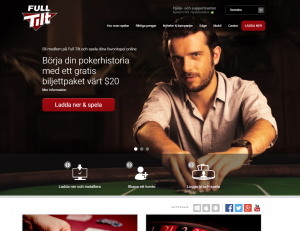 Full Tilt Poker - Webbsida